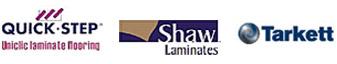 Quick-Step, Shaw, & Tarkett Laminate