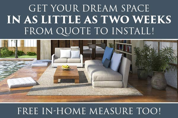 Get your Dream Space in Two Weeks! At Abbey Carpet & Floor in Harrisburg